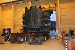 Transformer Relocation