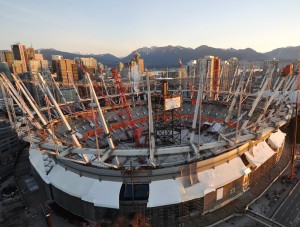 BC Place Revitalization - Structural Steel 1